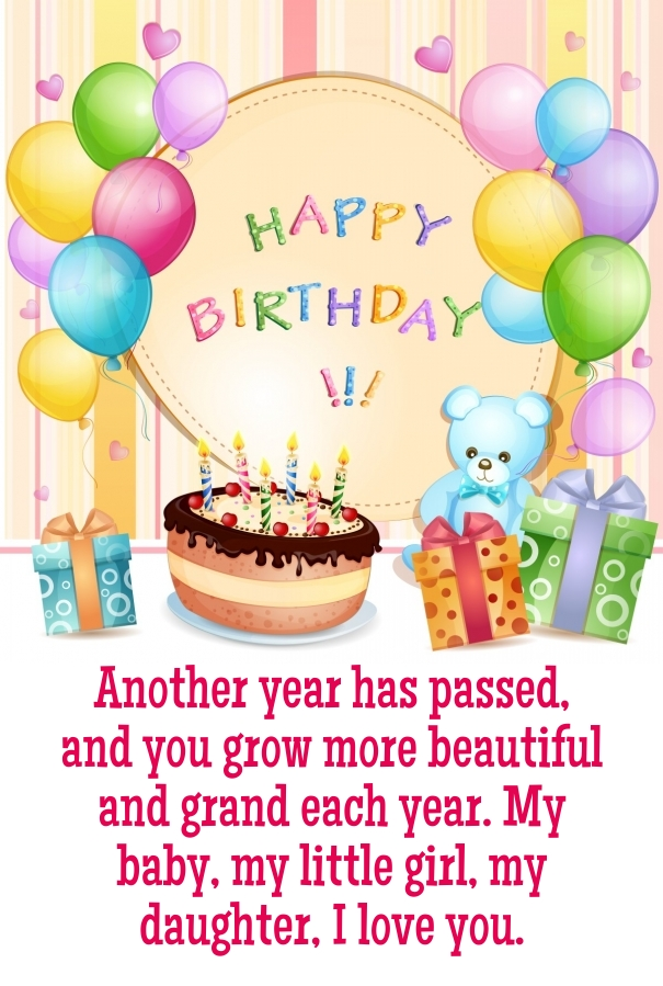 20 Best Birthday Quotes For Daughter Quotes Yard