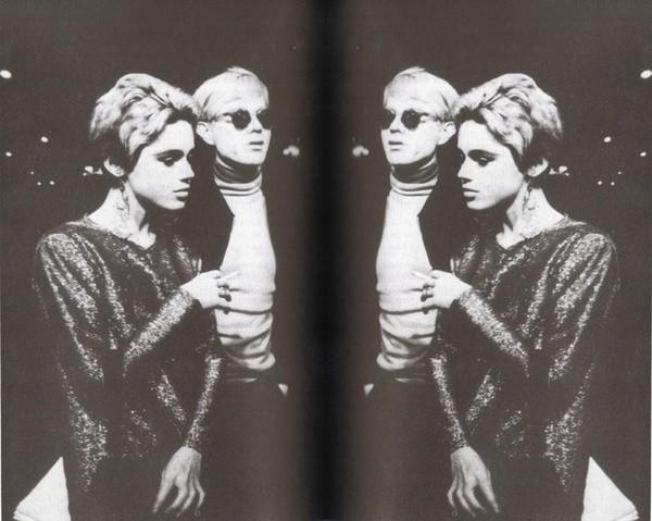 Edie Sedgwick Andy Warhol poster
