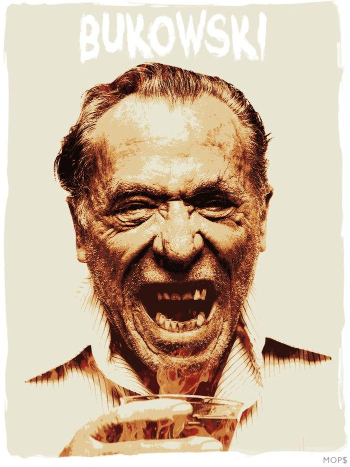 Bukowski drinking