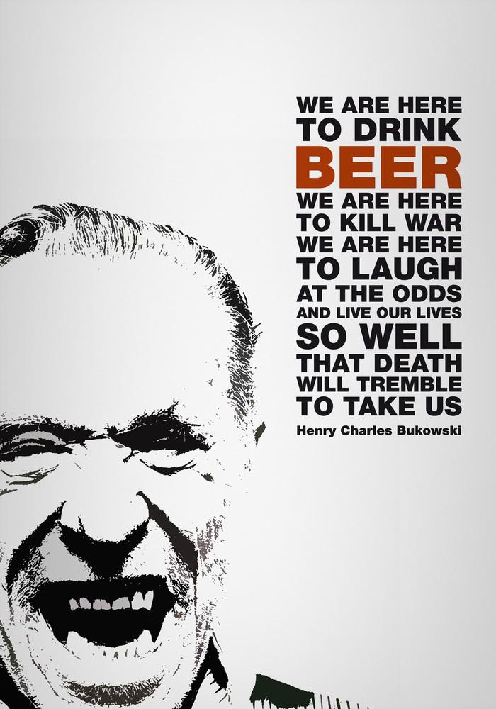 Bukowski Beer quote