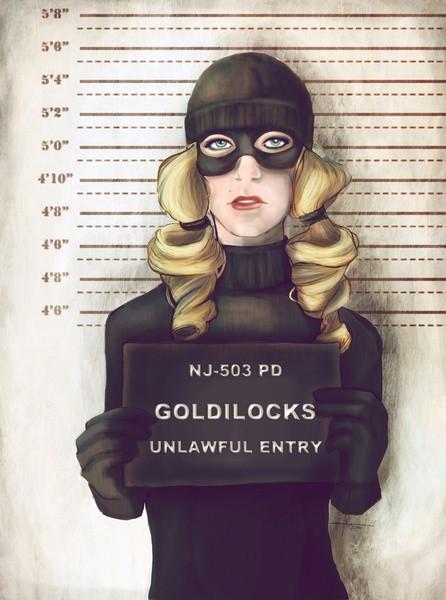 Goldilocks Mugshot