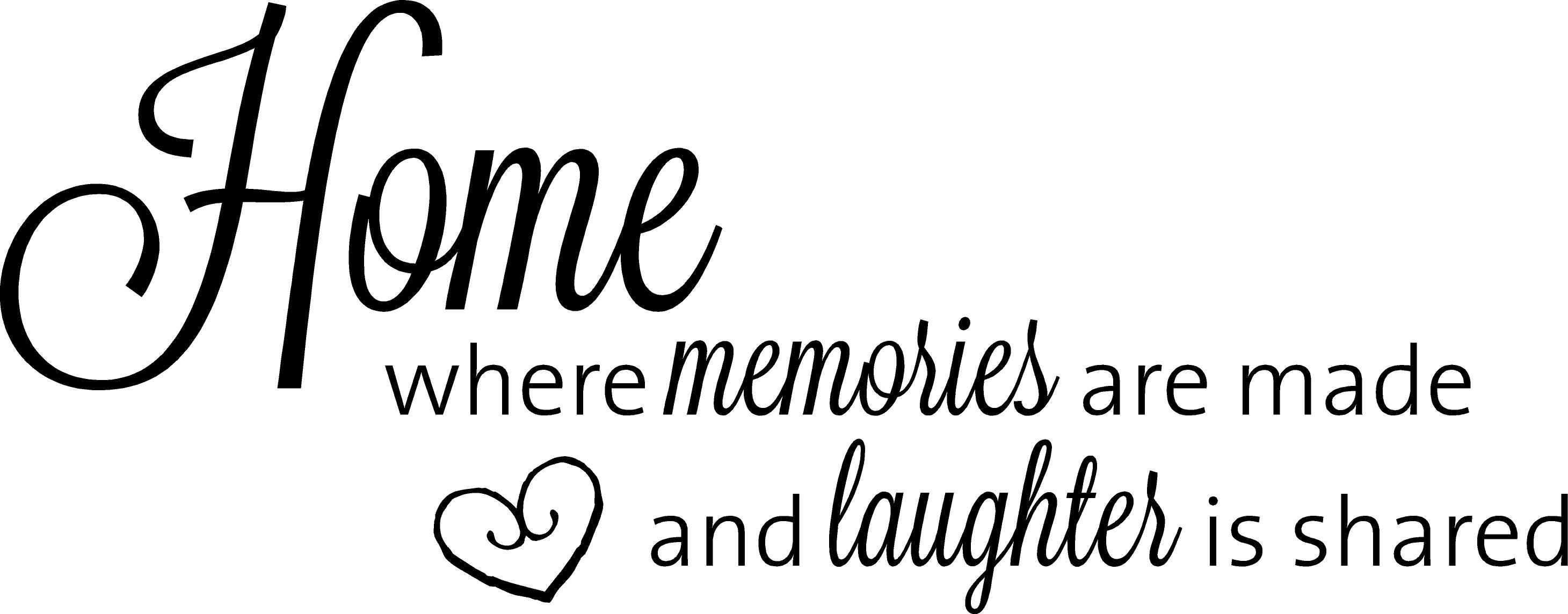 Home Where Memories Are Made And Laughter Is Shared