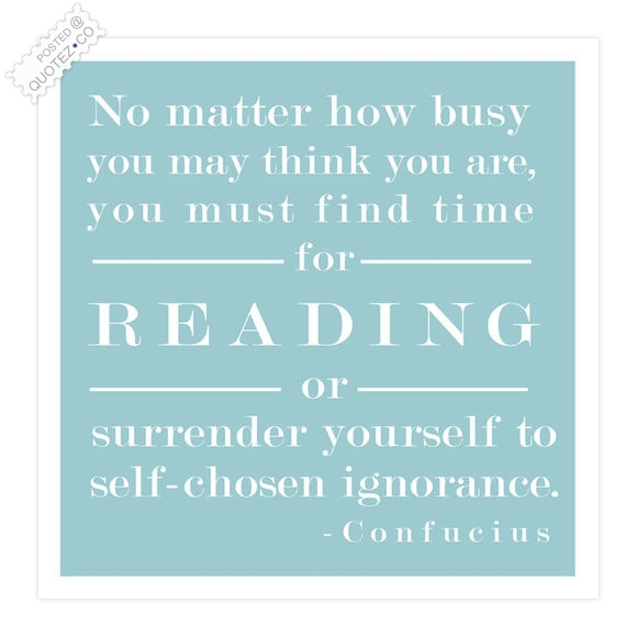 Find Time For Reading Quote