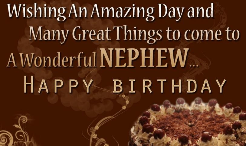 Birthday Wishes For Nephew Happy Birthday Nephew Funny