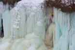 Falls, frozen