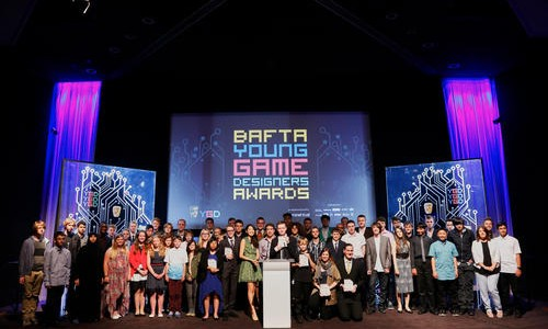 The BAFTA Young Game Designers Award picture
