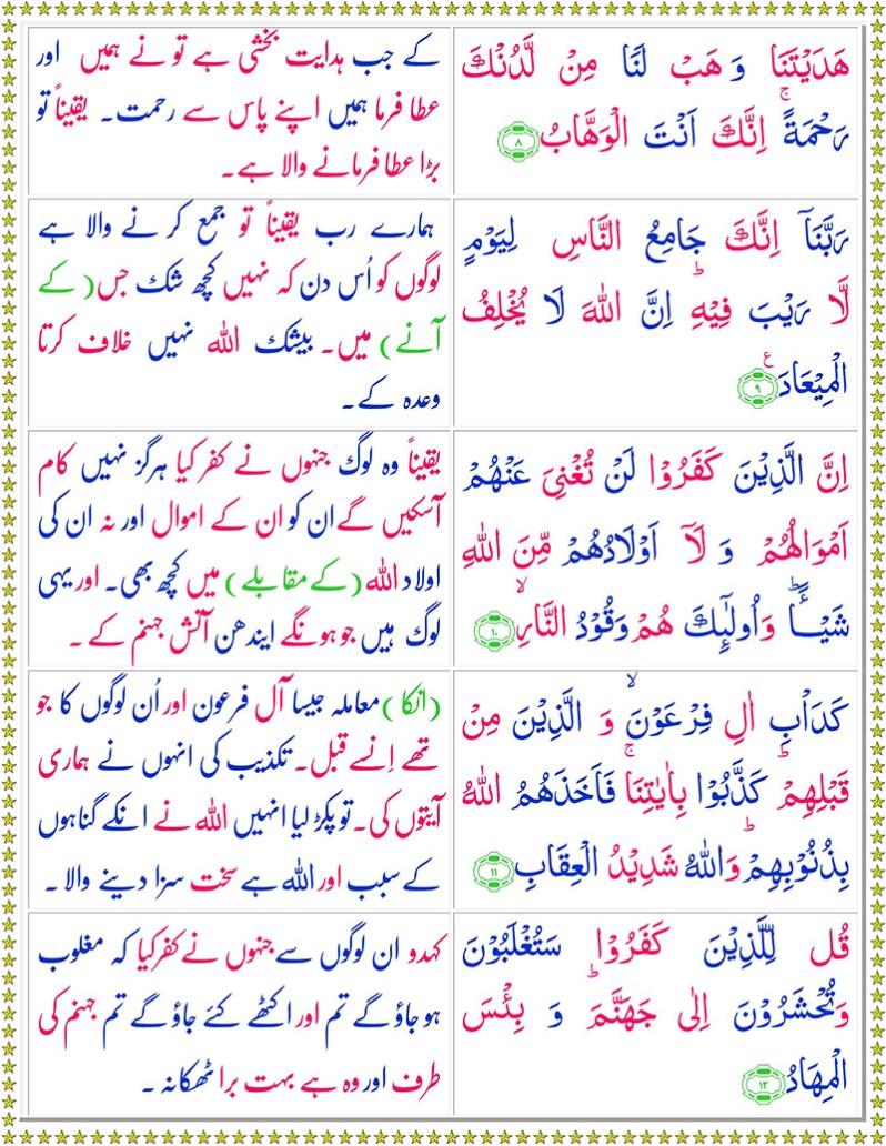 Read Surah Al-Imran Online