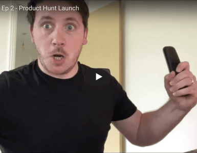Product Hunt Launch - Founder's Vlog