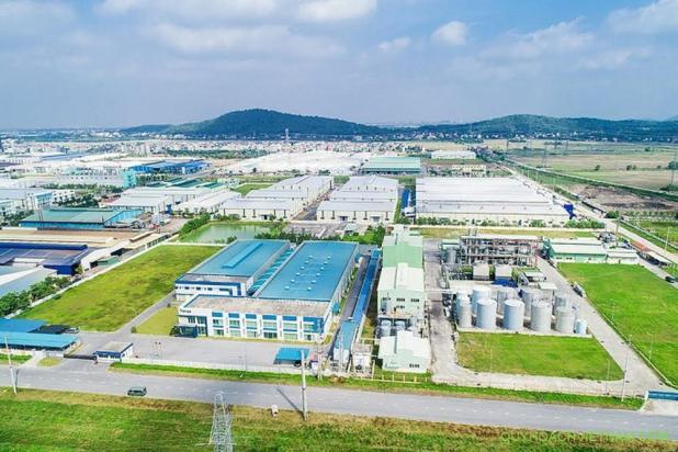 Khu công nghiệp tại Bắc Giang