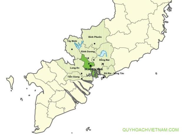 Quy hoạch vùng thành phố HCM