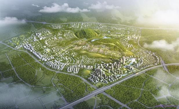 Bản đồ quy hoạch khu đô thị Hòa Lạc
