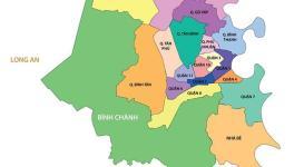 Bản đồ các quận Sài Gòn hiện nay