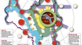 Bản đồ quy hoạch thủ đô Hà Nội mở rộng đến năm 2030 tầm nhìn 2050