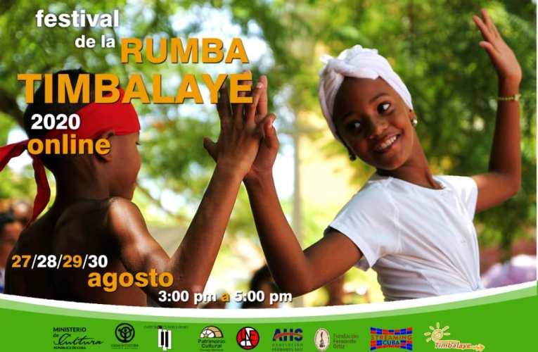 Rumba virtual cubana:  duodécima edición del Festival Timbalaye