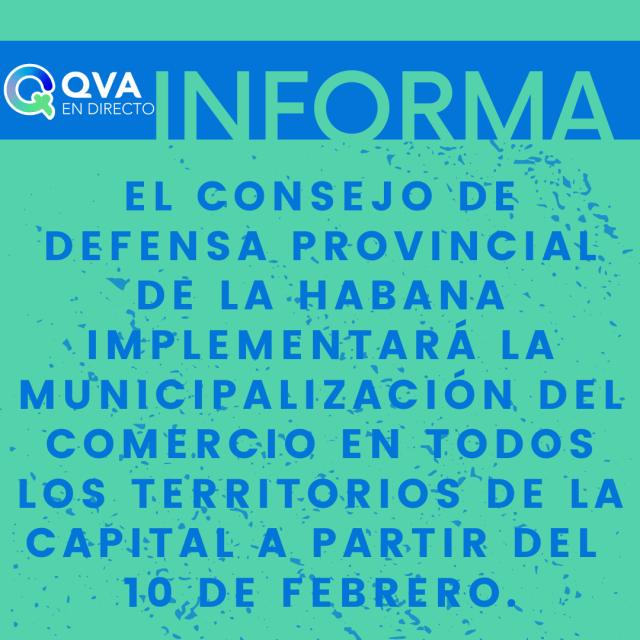 Regresa la municipalización del comercio en La Habana