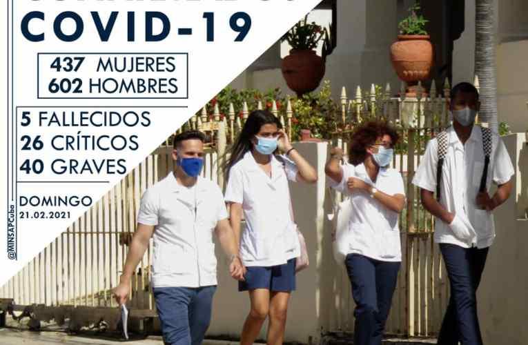 Segunda cifra más alta de covid-19 en Cuba
