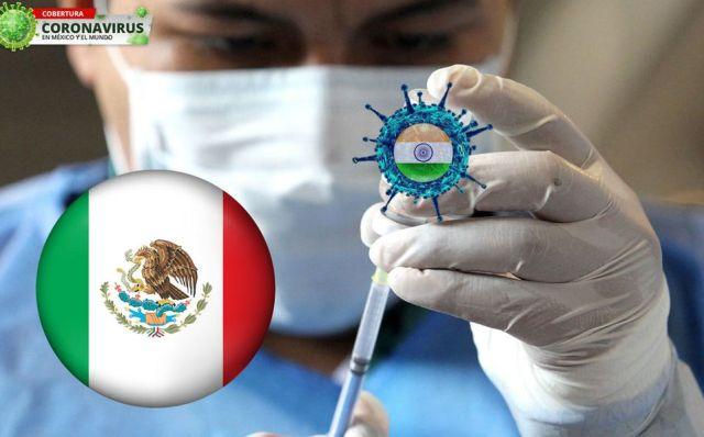 Detectan en México primer caso de variante de la India de covid-19