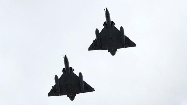 Rusia intercepta por segunda vez aviones militares franceses