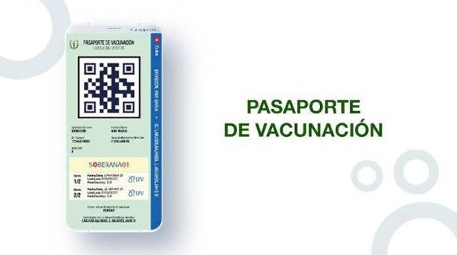 A ensayo pasaporte digital COVID-19 cubano