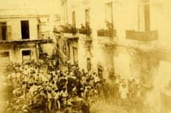 El incendio que estremeció la Habana