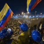 Suspenden de manera temporal manifestaciones en Colombia