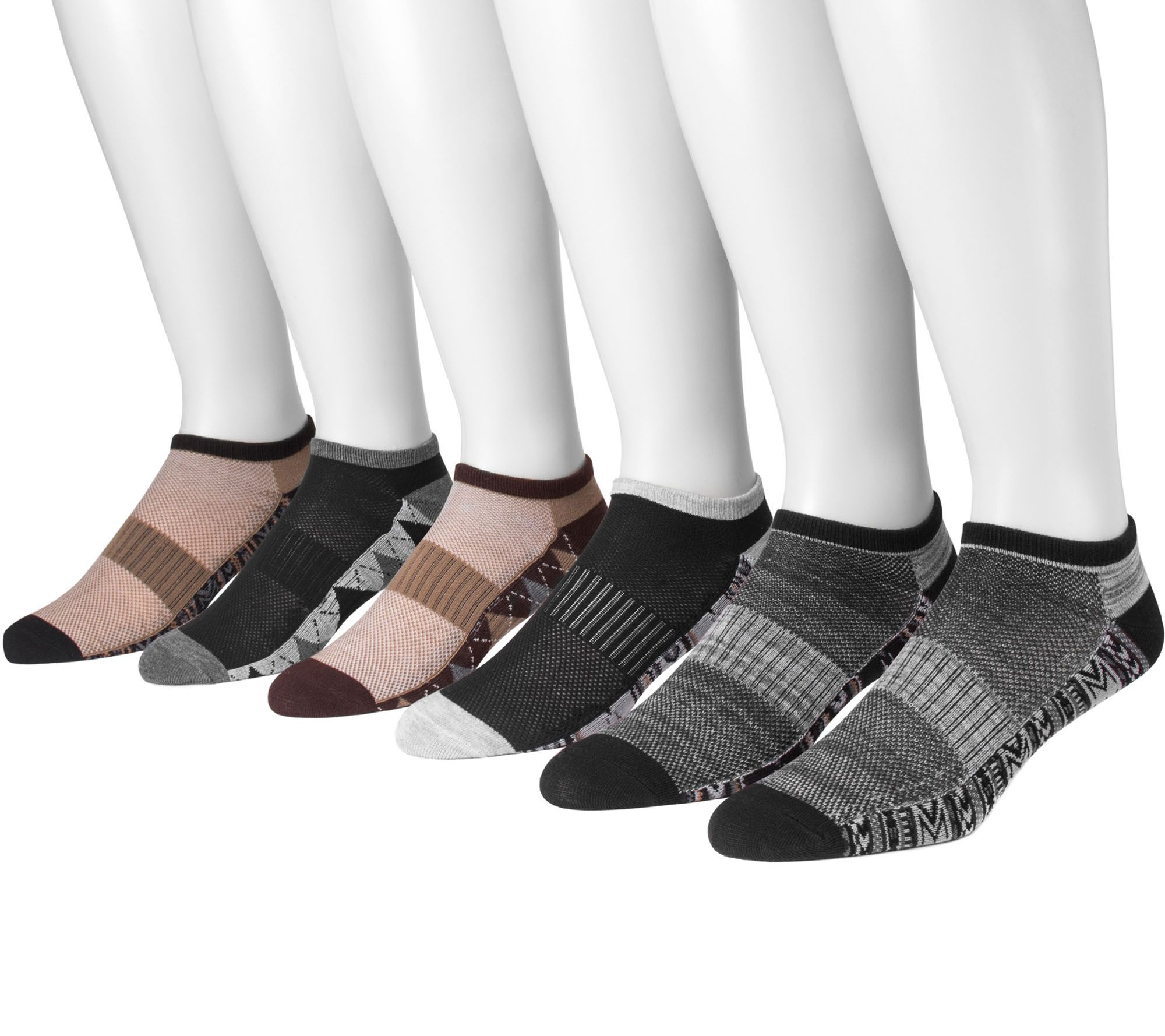 From the treadmill to the track, these arch compression socks are snug enough for athletic activities, while their mesh upper lets them breathe. QVC.com