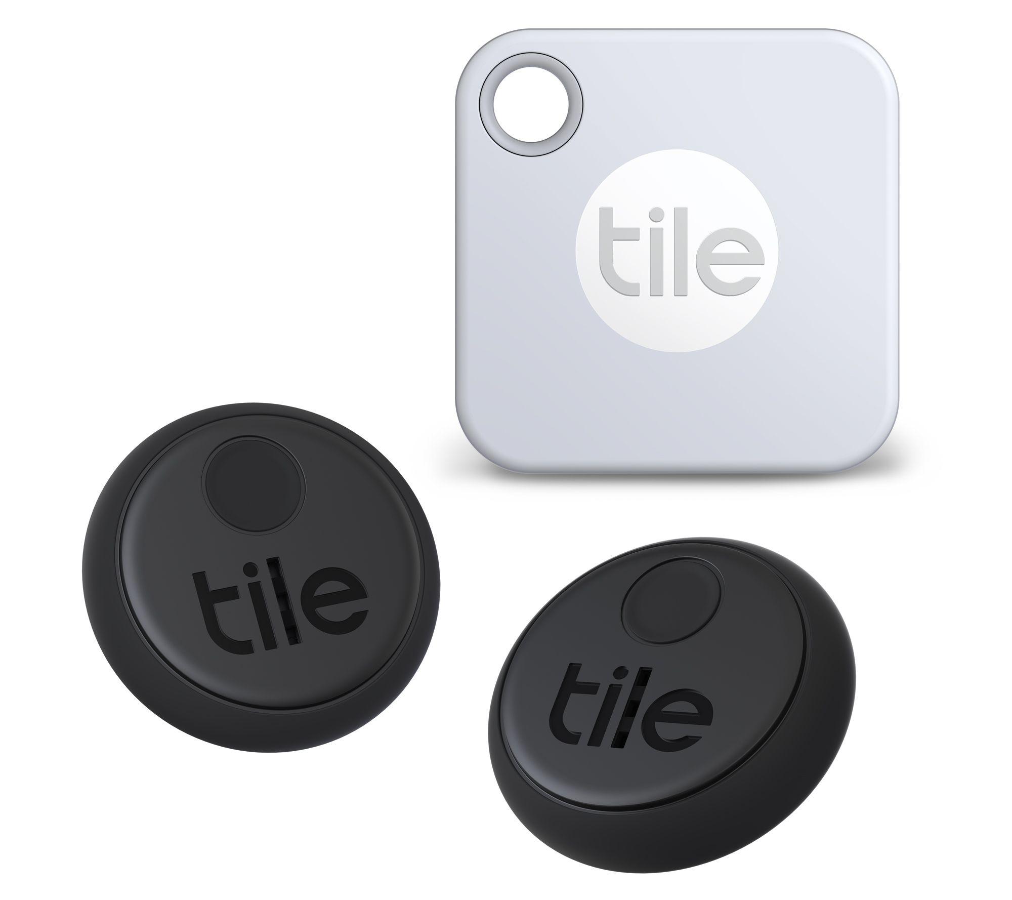 tile item finder set with tile mate and tile stickers qvc com
