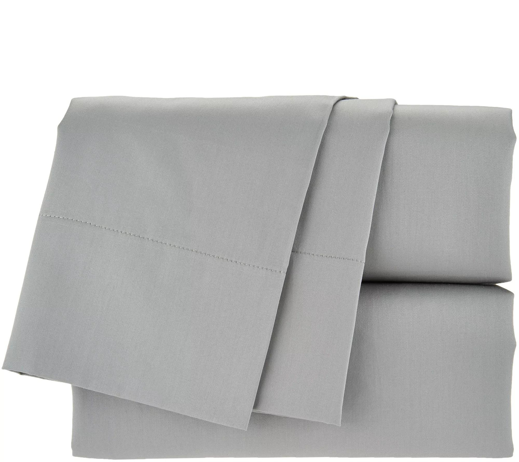 mypillow 100 cotton giza dreams full sheet set qvc com