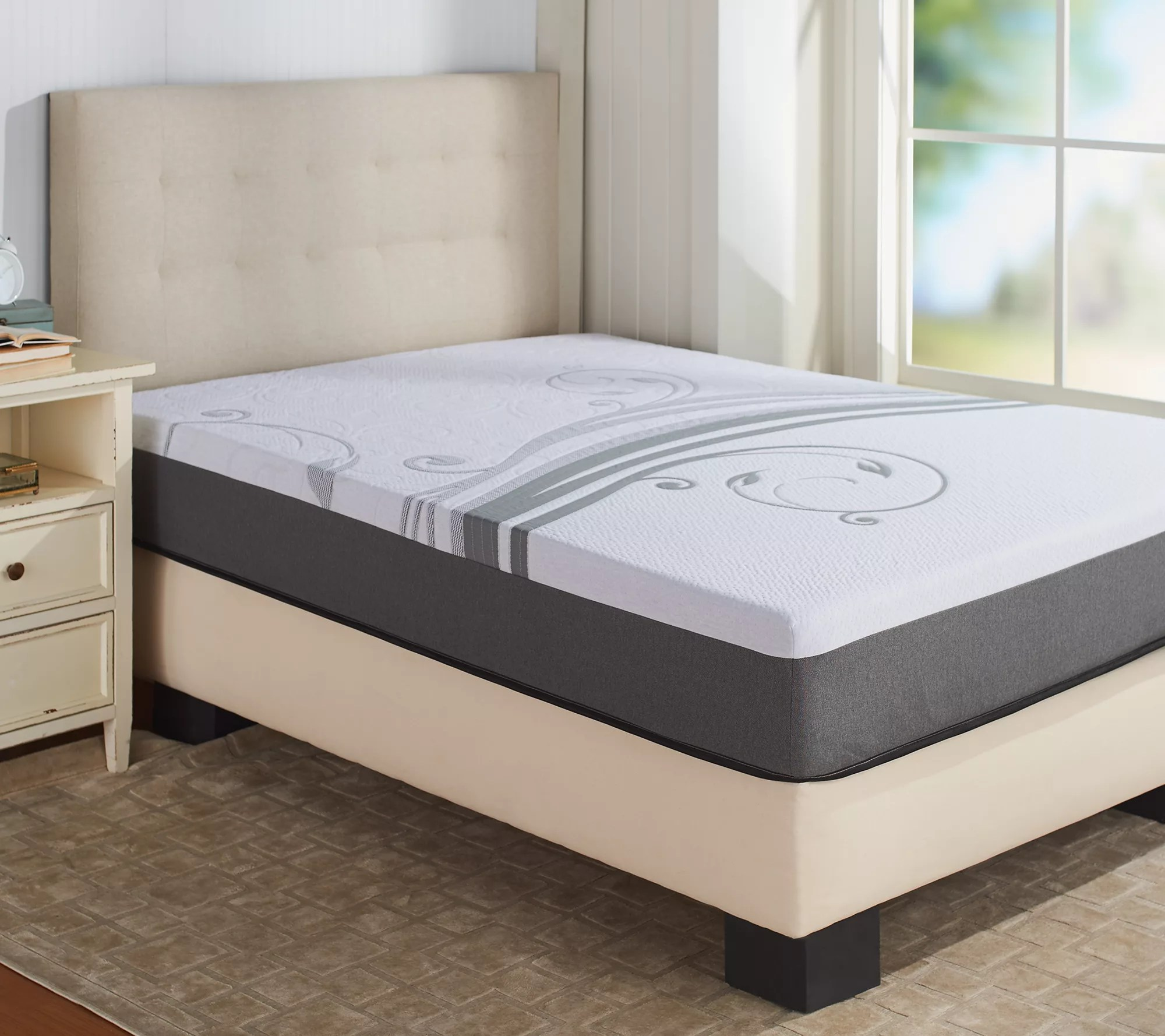 Northern Nights Supreme 10  Full Mattress   Page 1     QVC com Northern Nights Supreme 10  Full Mattress