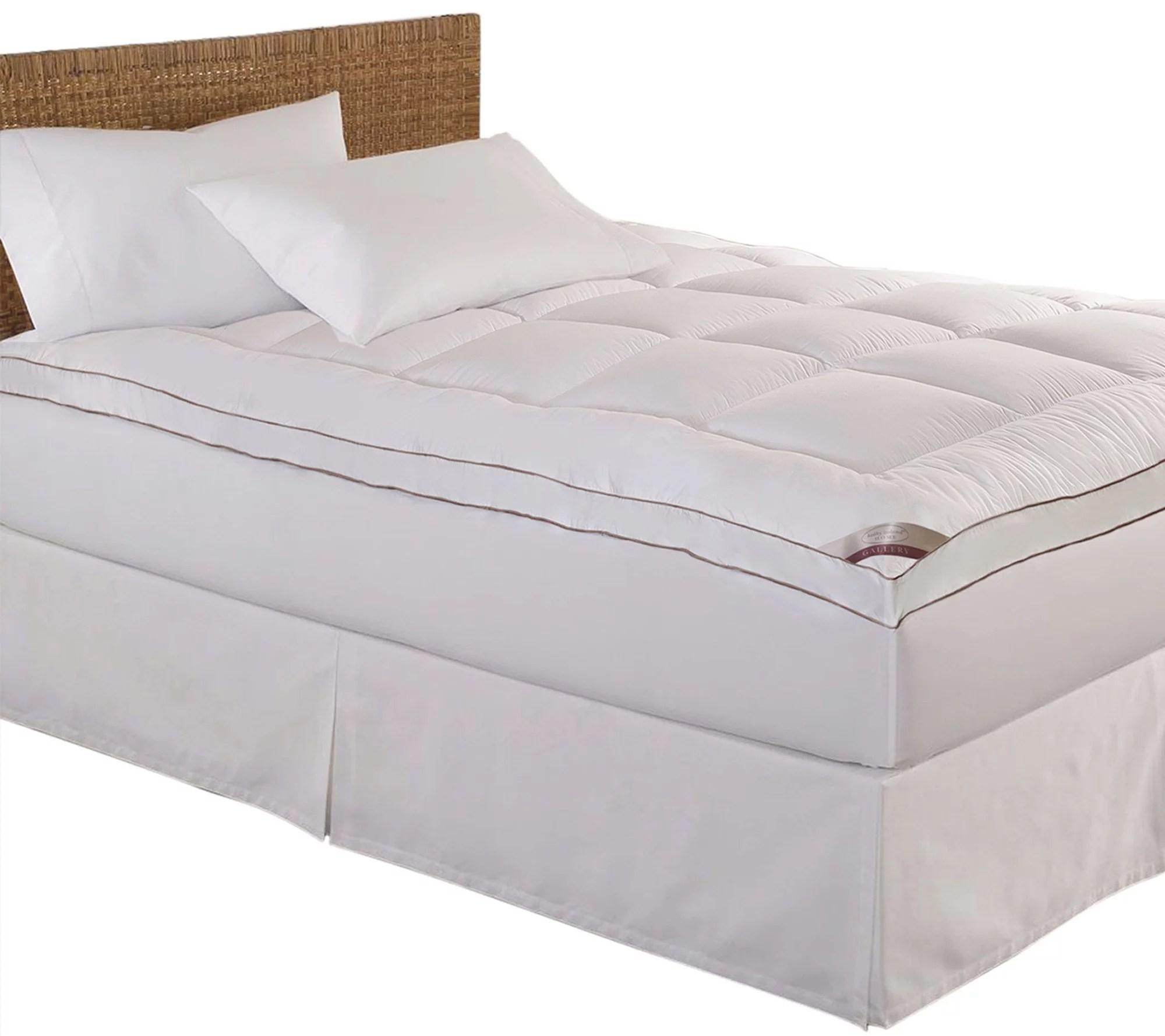 qvc my pillow mattress topper queen