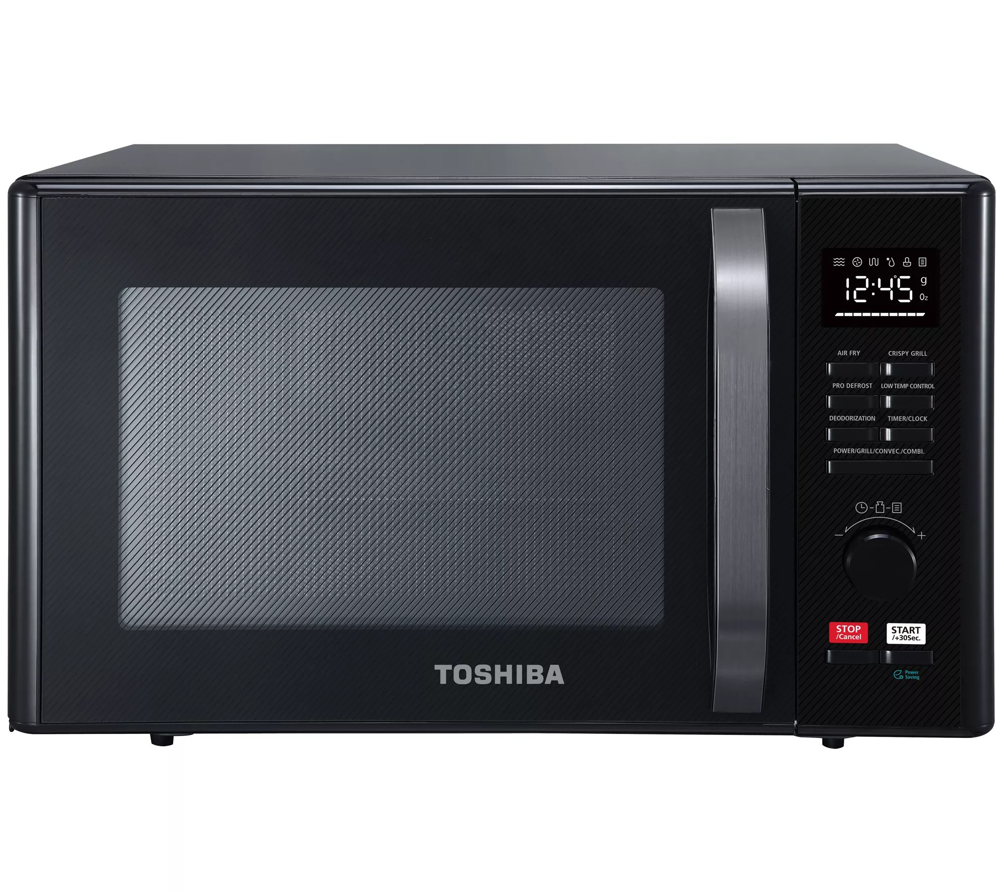 toshiba 1 0 cu ft 6 in 1 multifunctional microwave air fryer qvc com