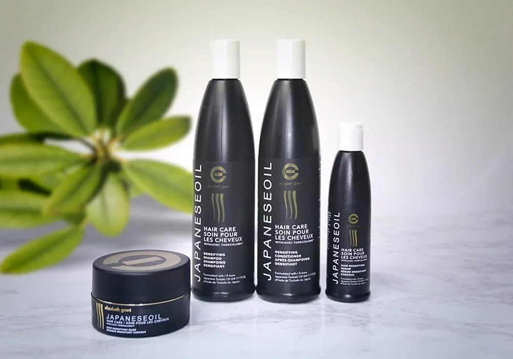 ELIZABETH GRANT JAPANESEOIL Hair Care Collection