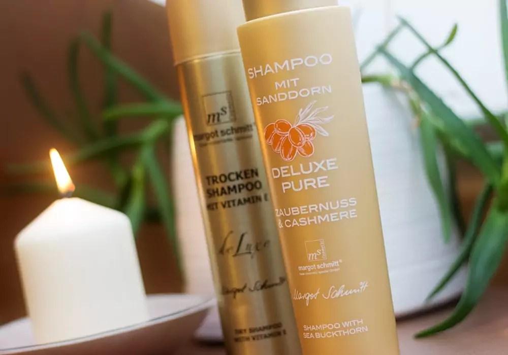 MARGOT SCHMITT DELUXE PURE Shampoo & DELUXE Trockenshampoo