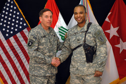 General David Petraeus and Captain Thach