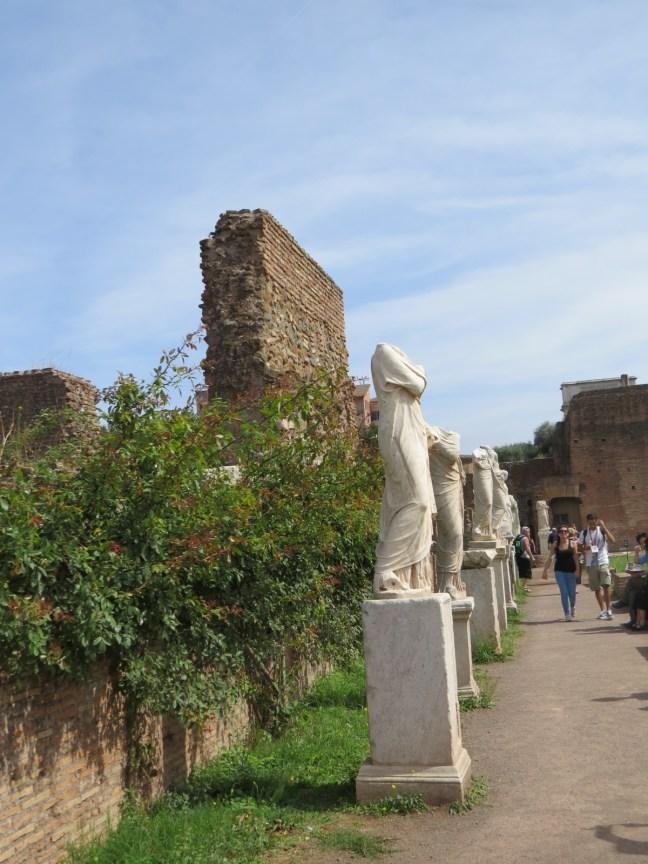Casa de las Vestales - Foro Romano