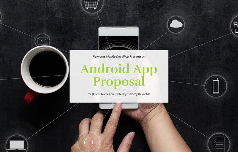 Android App Proposal Template