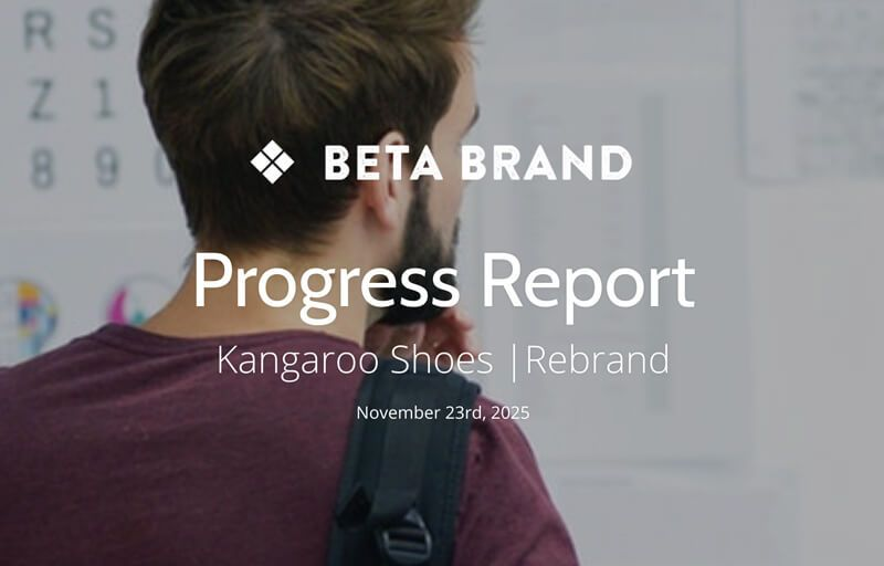 Branding Agency Progress Report Template