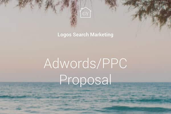 Adwords PPC Services Overview Template