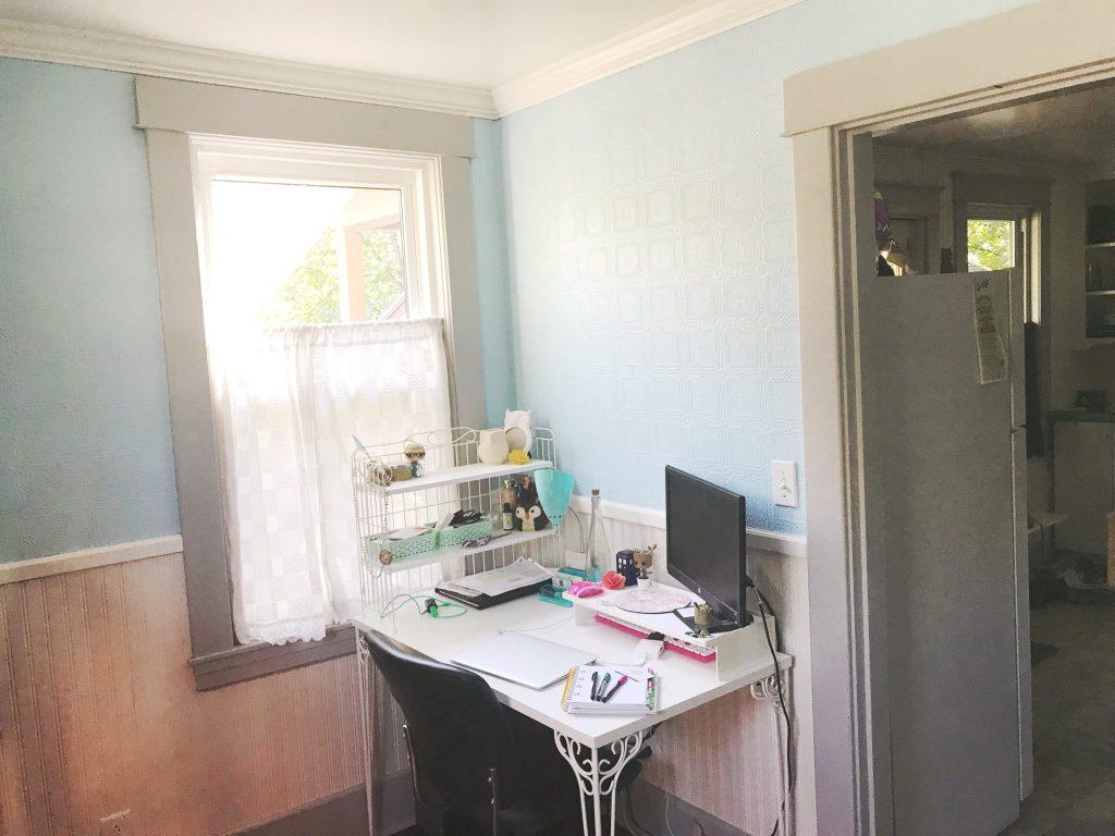 My new blue walls.