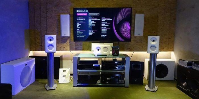 Размещение оборудования по технологии Dolby Atmos