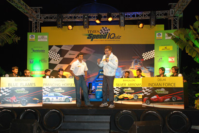 Closest we came to winning the Motorsports Quiz, Mumbai (March 2008)