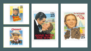 Photo of 1939 classical movie stamps