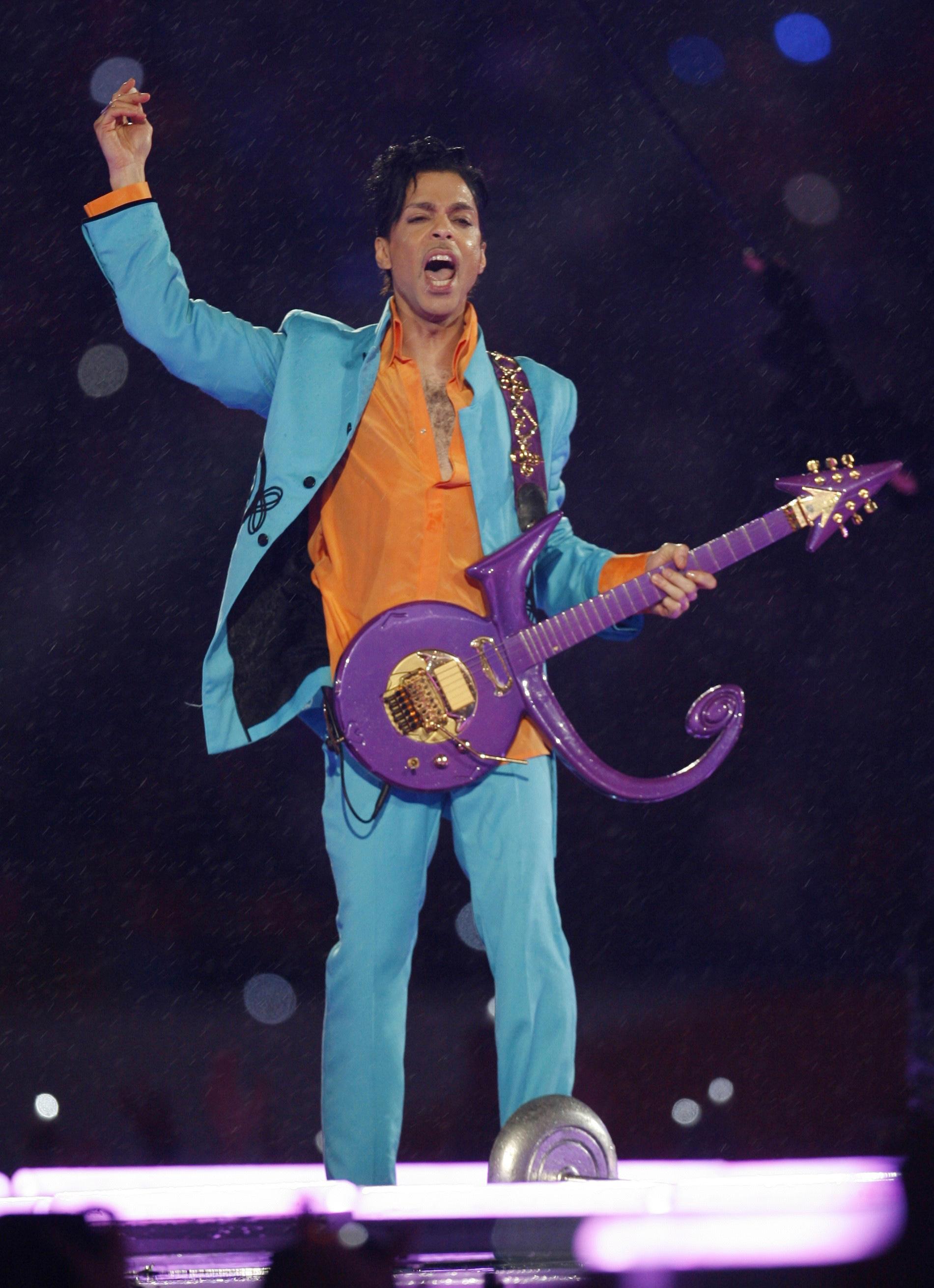 Purple Used Rain Guitar