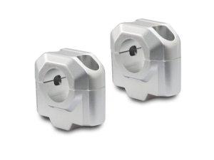poviški krmila fi28 poviša za 30mm srebrni