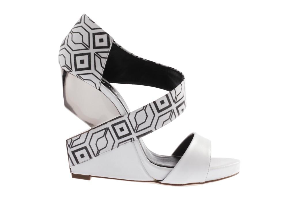 Charline De Luca Metallic Multistrap Sandals outlet professional cheap visa payment xl7E1
