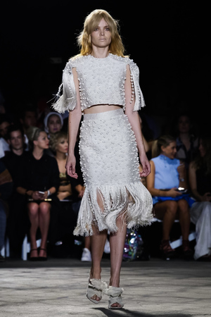 Christian Siriano Fashion Show, Ready to Wear Collection Spring Summer 2016 in New York