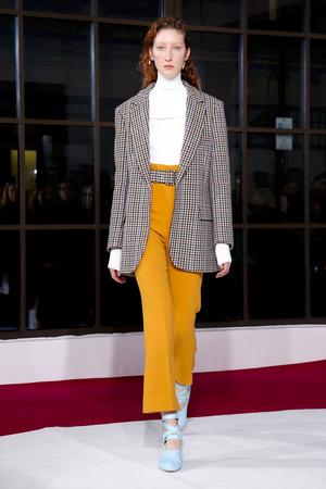 Emilia Wickstead Fall 2018 London Fashion Week Show.