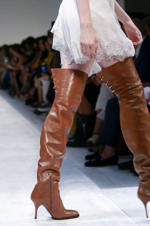 Ermanno Scervino Spring 2019 Milan Fashion Week Show.