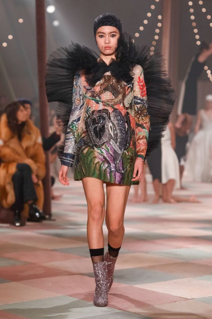 Dior Spring 2019 Couture Paris Show.