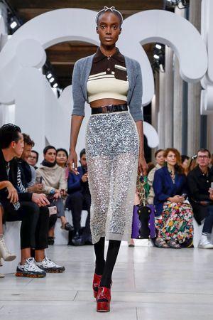 Miu Miu Spring 2019 Paris Fashion Week Show.
